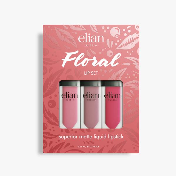 FLORAL Lip Set